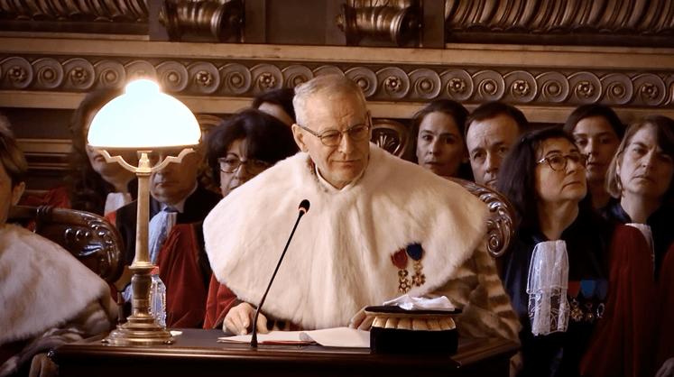 Bertrand LOUVEL - Rendre la justice - film au cinéma - 2019